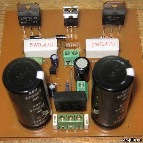 Усилитель для радиостанции
