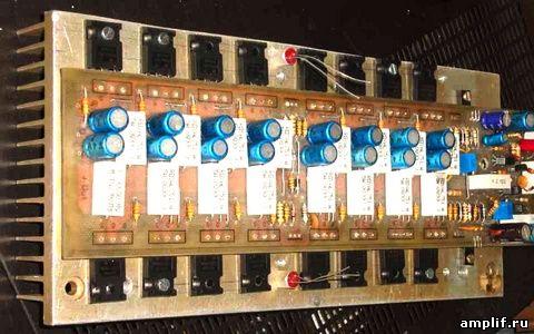 Транзисторный усилитель своими руками фото