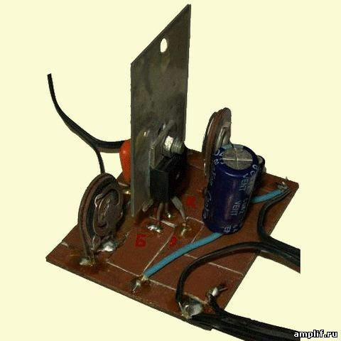 УНЧ на одном транзисторе