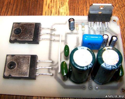 TDA7293 - Усилитель звуковой