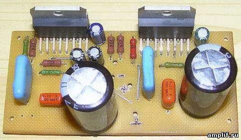 усилитель на микросхемах