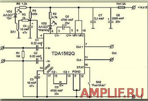 микросхемы TDA1562
